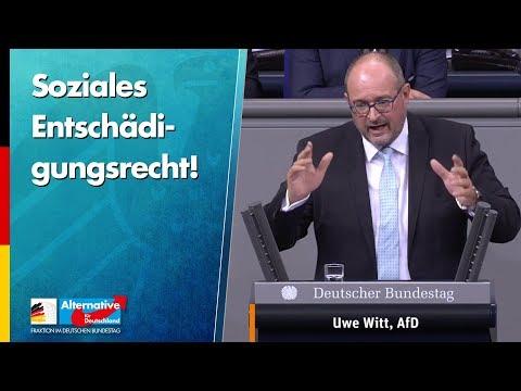 Soziales Entschädigungsrecht! - Uwe Witt - AfD-Fraktion im Bundestag