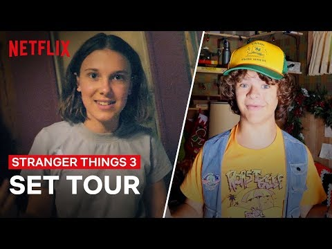 Louie Cruz - Stranger Things 3 - Cast Goes Behind The Scenes