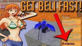 HOW TO GET BELI FAST! | STEVE'S ONE PIECE | ROBLOX |