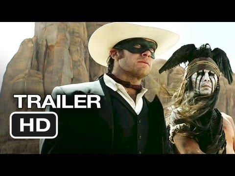 The Lone Ranger   1 2013  Johnny Depp Movie HD