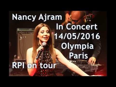 Nancy Ajram (Liban) Concert, Olympia Music Hall, Paris, 14/05/2016