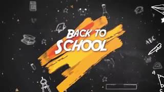 BACK TO SCHOOL! (Academic Year 2018-2019)