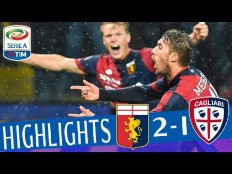 Genoa - Cagliari 2-1 - Highlights - Giornata 27 - Serie A TIM 2017/18