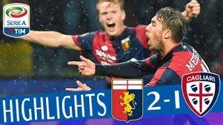 Genoa - Cagliari 2-1 - Highlights - Giornata 27 - Serie A TIM 2017/18 streaming
