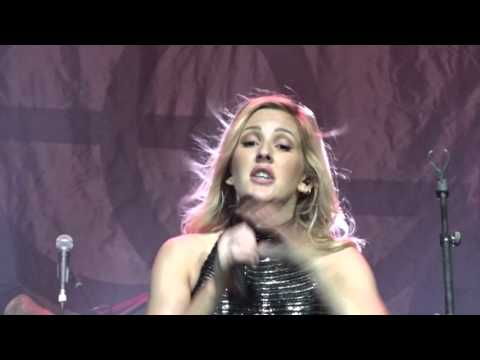 Ellie Goulding -Powerful  (Major Lazer) live  Enmore Theatre Sydney 04/10/15