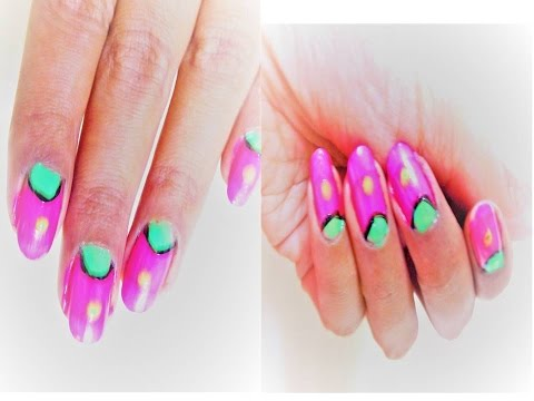 diy easy and simple nail art designs at home / without