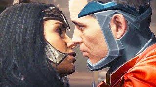 INJUSTICE 2 Wonder Woman Superman Scene Justice League (2017)