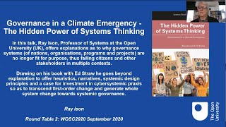 2.1. Governance of pressing global policy issues in the age of the Anthropocene
