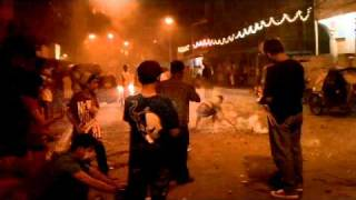 Philippines vacation 2010 - Manila Dec 31 - Fireworks #7