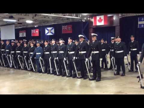 Ordinary Seaman McClement graduation - 1