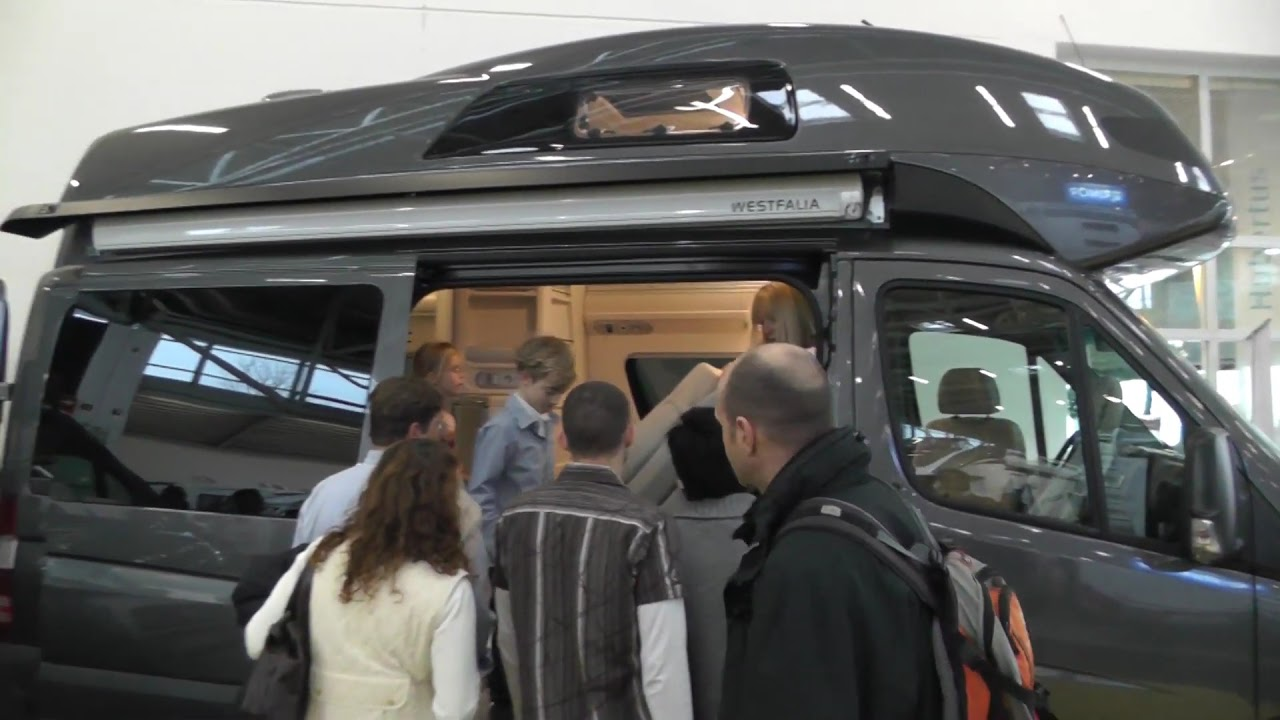 mercedes benz james cook westfalia 2012 youtube. Black Bedroom Furniture Sets. Home Design Ideas