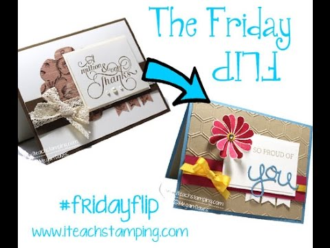 353087815 Friday Flip  Using Stampin  Up! s Crazy About You Bundle on a Handmade Card