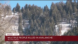 Four skiers killed in Millcreek Canyon avalanche