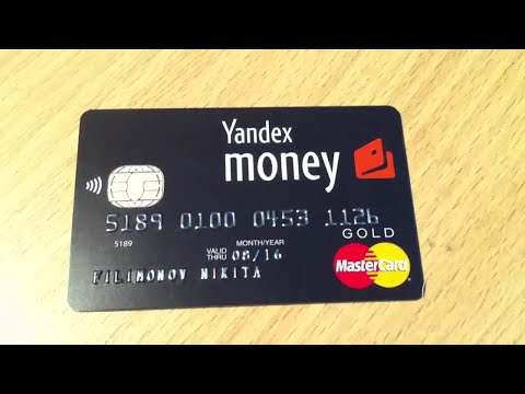 How To Get Virtual Cerdit Card / Yandex Money Virtual Card Bank