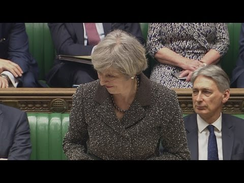 Theresa May: Brexit remains on track and we