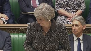 Theresa May: Brexit remains on track and we'll trigger Article 50 as planned