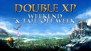Double XP Weekend And Tail-Off Week - RuneScape