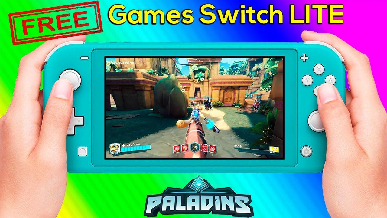 Paladins Gameplay on Nintendo Switch Lite - Free Switch Games