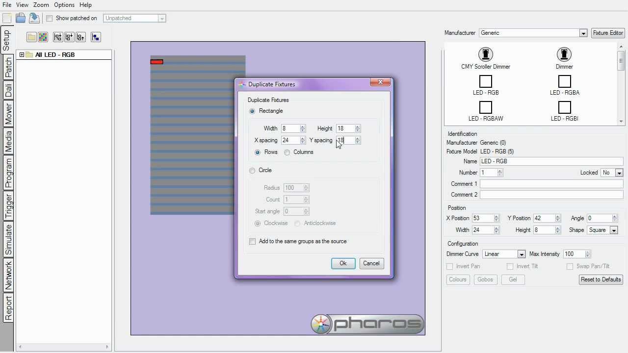 Pharos designer screencast plan fixture layout part 1 youtube pharos designer screencast plan fixture layout part 1 malvernweather Images
