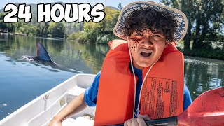 Download Surviving 24 Hours On A Lake - Challenge Mp3 and Videos