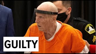 Golden State Killer Joseph Deangelo Pleads Guilty To Multiple Charges In Orange County | Raw