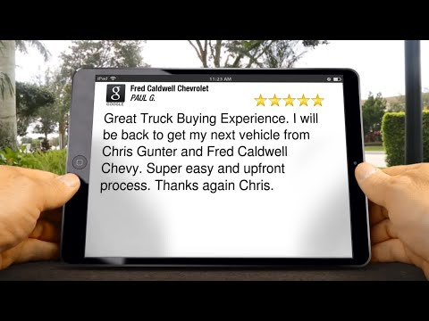 Fred Caldwell Chevrolet Review Charlotte NC 803 810 0089 pg