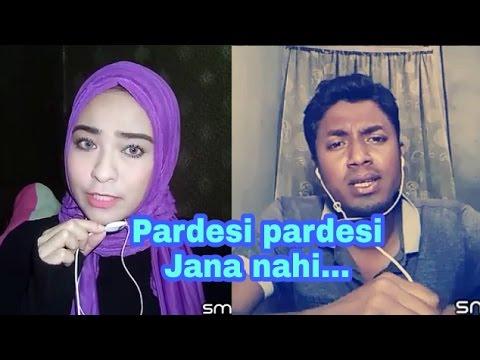 Pardesi pardesi jana nahi ( Raja Hidustani ). My cover 28