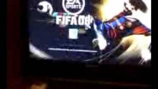 FIFA 08 para Xbox 360 en alta definición