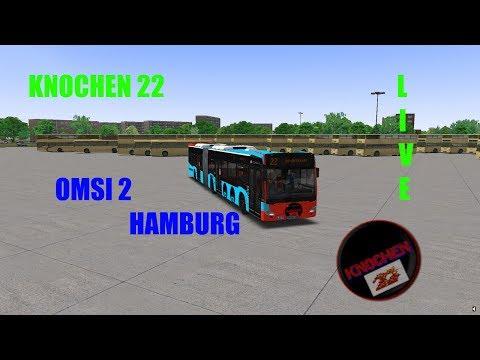 Omsi 2 | HAMBURG | KNOCHEN 22 LIVE!!!!!