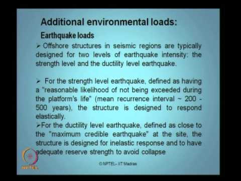 Mod-01 Lec-08 Environmental loads II