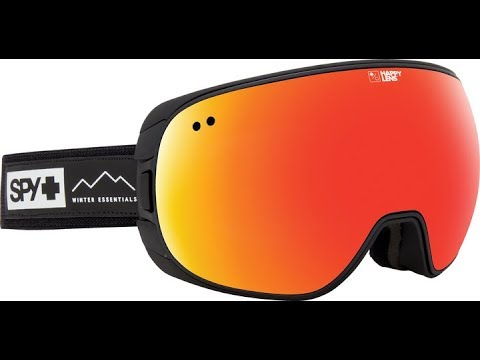a7638cdad186 SPY Doom Snow Goggle Product Knowledge Video - YouTube