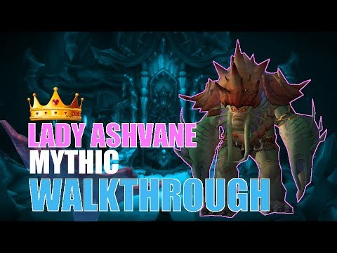 Lady Ashvane Mythic Walkthrough | Affliction Warlock