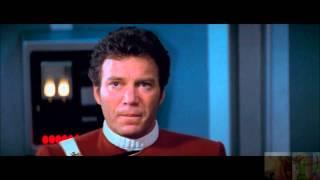 Star Trek II:The Wrath of Khan Battle in the Mutara Nebula:Spocks Funeral 6/8