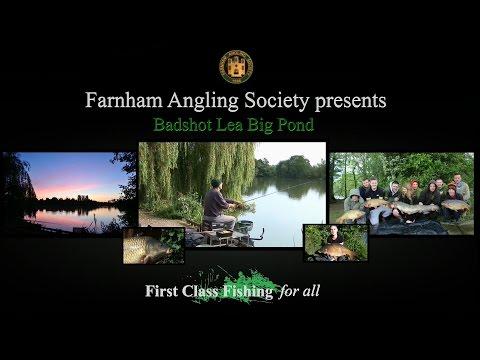 Farnham Angling Society Badshot Lea Big Pond fishery