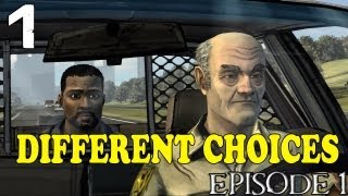"The Walking Dead Episode 1 - [Different Choices] - Part 1 ""Saving Lives"""