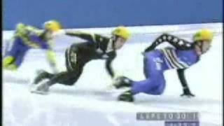 Apolo Anton Ohno--Skating on Thin Ice  (2-13-2002)