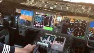 Boeing 787 Dreamliner, Cockpit Tour