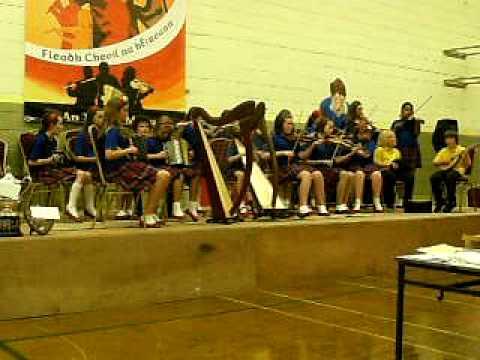 Groupa Cheoil North London Under 12 at All Ireland Fleadh ...