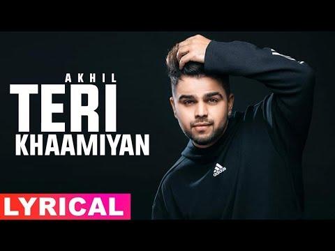 Teri Khaamiyan (Lyrical Remix) | Akhil | Jaani | B Praak | Latest Punjabi Songs 2019 | Speed Records