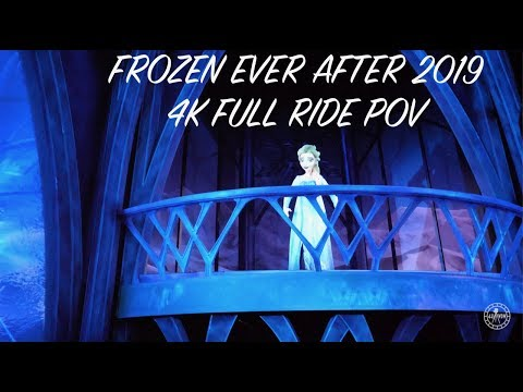 EPCOT Frozen Ever After FULL RIDE POV in 4K | Walt Disney World Orlando Florida 2019