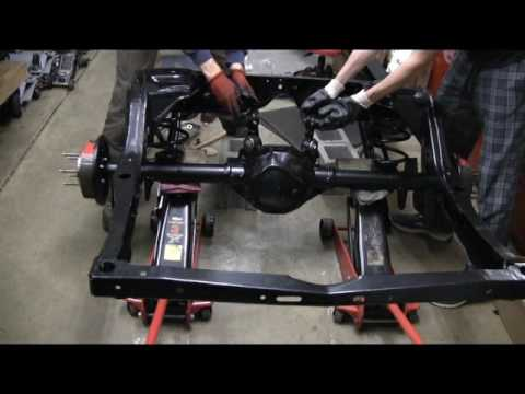 Ls conversion swap part 25 rear suspension assembly youtube for Garage prime conversion