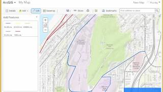 QuickDemo: How to Edit Lines in ArcGIS Online