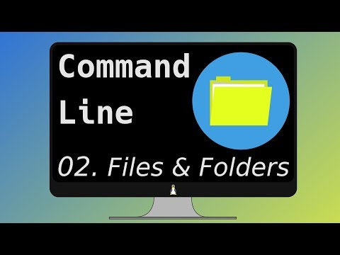 02. The Linux Command Line Ultimate Tutorial - Manipulating file and folders