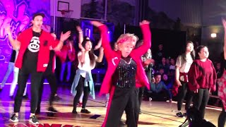 60-Year-Old Woman Nails Her Uptown Funk Dance | What's Trending Now