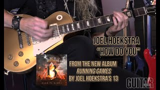 """Joel Hoekstra - """"How Do You"""" - playthrough and lesson"""
