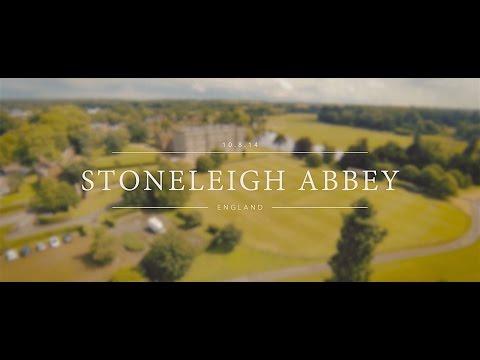 Sairah & Tariq Stoneleigh Abbey//Aerial Teaser