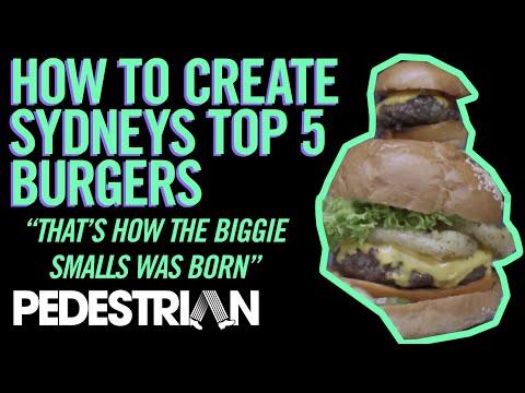Creating Sydney's Top Five Tastiest Burgers