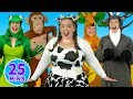 Alphabet Animals + More Alphabet Songs - Learn ABCs with the Alphabet Series - Kids Songs