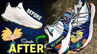 FULL CUSTOM | Hey Arnold! Curry 5 for Lester Quinones by Sierato