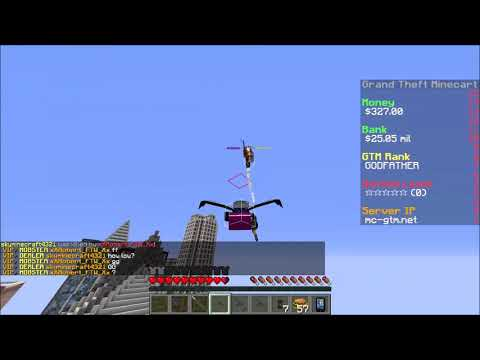 Minecraft | GTM | Hacker CuddleDino | Kill Aura